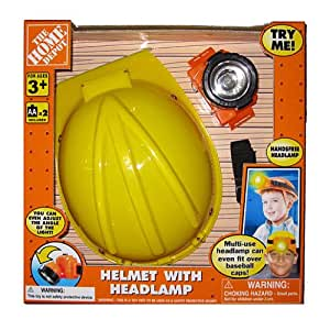 The Home Depot Helmet with Headlamp