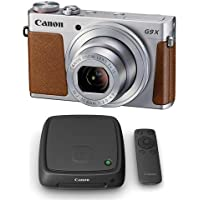 Canon PowerShot G9 X Digital Point & Shoot Camera and Canon Connect Station, Silver