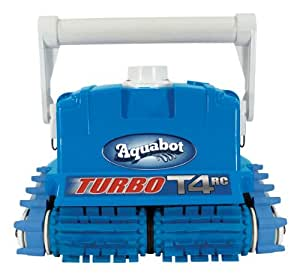 Aqua productos Aquabot Turbo t4tr Robot limpiador de piscina con 4Vías mando a distancia