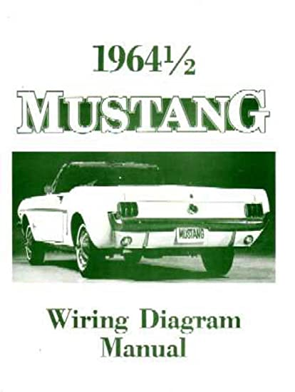 amazon com: bishko automotive literature 1964 ford mustang electrical  wiring diagrams schematics manual book factory oem: automotive