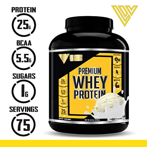 100 Grass Fed Whey Protein Powder ISO 100, 5.5 lbs, Non-GMO, Low Carb, Low Sugar, Keto Friendly, Paleo Friendly, Pure Protein Meal Replacement Protein Powder, Made in USA with American Ingredients