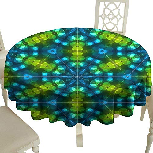 Iridescent cloud Easy Care Tablecloth Abstract Colorful Light Bokeh Wallpaper Texture Background Indoor Outdoor Camping Picnic D63