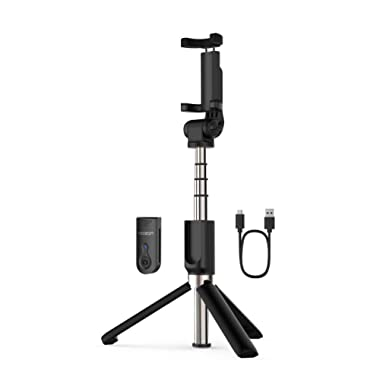 Yoozon Selfie Stick Tripod Bluetooth, Extendable Phone Tripod Selfie Stick with Wireless Remote Shutter for iPhone 11/11 Pro/11 Pro Max/Xs MAX/XR/XS/X, Galaxy Note 10/Note 10 Plus/S9, Huawei and More