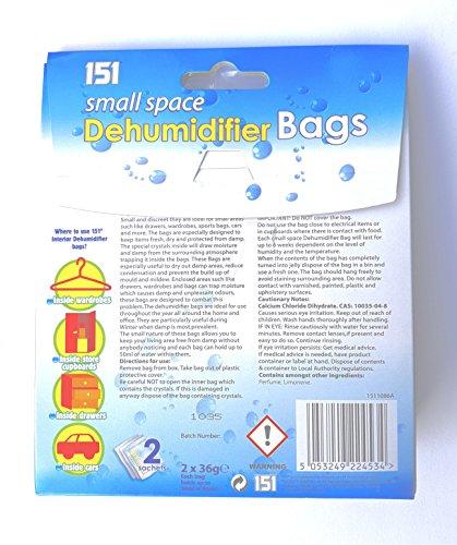 작은 공간 제습기 가방 (3 팩) 151에 의해/Small space dehumidifier bags (3 pack) by 151