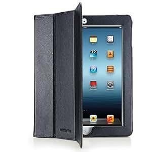 Cellular Line Vision Essential Tablet folio Negro - fundas para tablets (Tablet folio, Negro, Cuero, Apple, iPad 2, iPad 3)