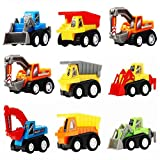 Toys for 2 Year Old Boys, Tisy Pull Back Cars for Kids Gifts for 2-6 Year Old Boys Toys for Kids Toys for 3-6 Year Old Boys TSUKPULL0902