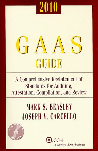 GAAS Guide, 2010 (with CD-ROM) (GAAS Guides)