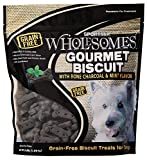 Cheap Sportmix Wholesomes Gourmet Biscuit With Bone Charcoal And Mint Flavor Grain Free Dog Treats, 3 Lb.