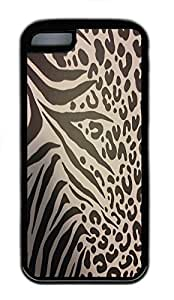 for iphone 4/4s Case Cute Animal Prints TPU Custom for iphone 4/4s Case Cover Black