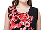Chicwe Women's Plus Size Lined Floral Printed