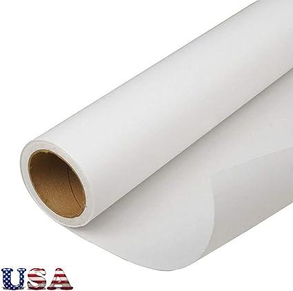 HanJi GSM - Rollo de papel de sublimación para impresión por transferencia de calor, 61 cm x 10000 cm: Amazon.es: Oficina y papelería