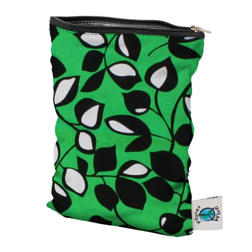 Planet Wise Wet Bag - Laughing Leaf Small