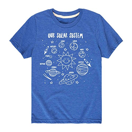 Our Solar System - Toddler Short Sleeve Tee Royal Blue ()