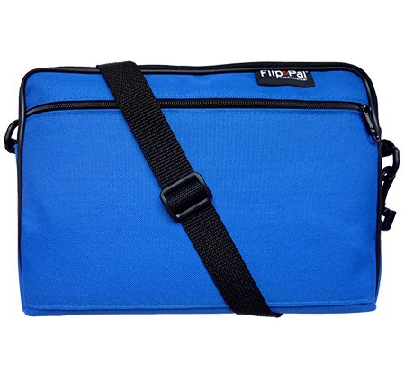 (Flip-Pal Deluxe Carry Case with Pocket - Blue)