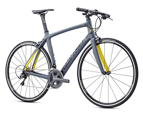 Kestrel RT-1000 Flat Bar Shimano Ultegra Fitness Road Bike, XX-Large/62 cm, Dark Gray/gloss Black Advanced Sports International - Bike