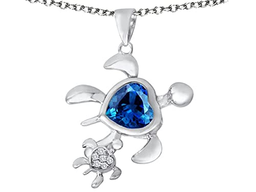 Star K Sterling Silver Large 15mm Trillion Star Pendant Necklace