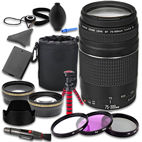 Accessories 75 300mm Telephoto Wideangle Battery