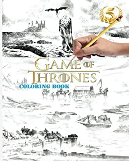 HBOs Game of Thrones Coloring Book HBO 9781452154305 Amazoncom
