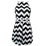 Fashion Story Two Pieces Womens Backless Top Pencil Mini Skirt Party Dress