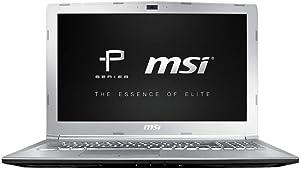 "MSI PE62VR 7RF-837 Traditional Laptop (Windows 10 Pro, Intel core i7-7700HQ, 15.6"" LCD Screen, Storage: 1024 GB, RAM: 16 GB) Silver"
