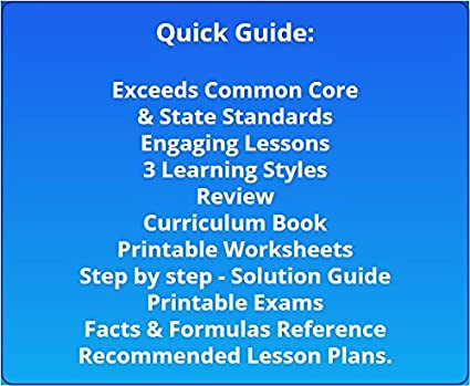 Workbook common core worksheets 4th grade math : Amazon.com: 4th Grade Math Full Curriculum SW CD Premium Edition ...