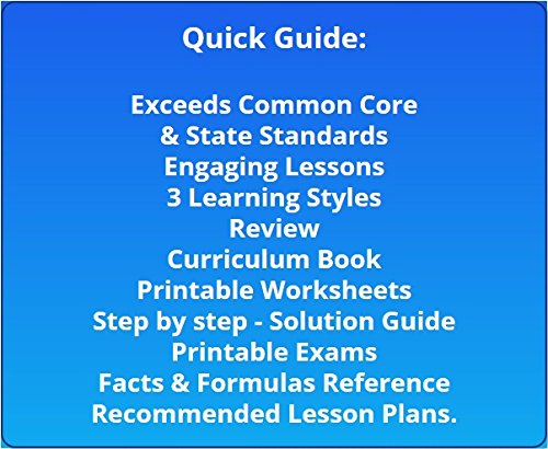 Workbook 4th grade spanish worksheets : Amazon.com: 4th Grade Math Full Curriculum SW CD Premium Edition ...