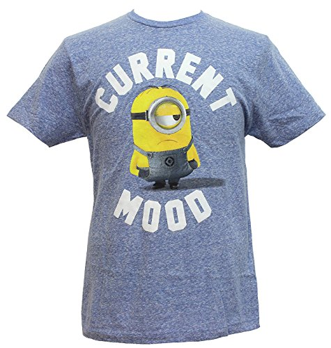Despicable Me Minions Current Mood Graphic T-Shirt - X-Large -