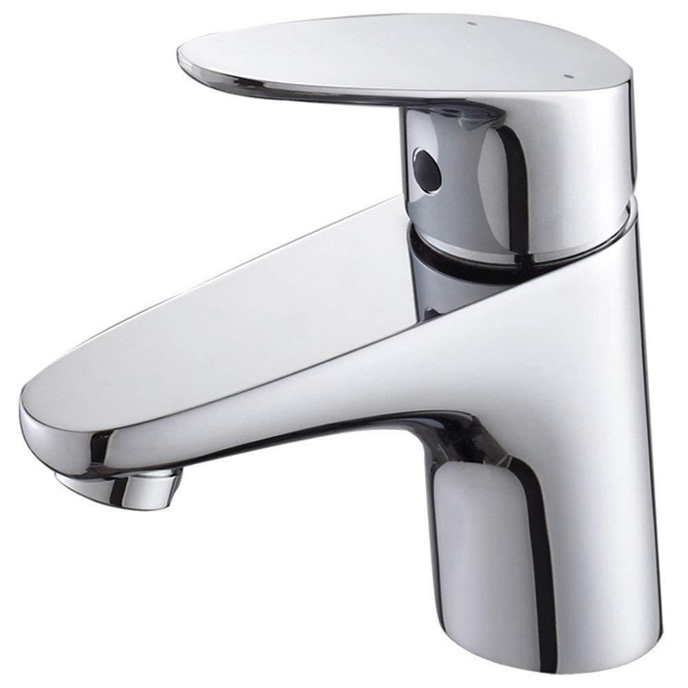 Eeayyygch Vollkupfer Einlochmontage Hot Hot Basin Wasserhahn (Farbe   -, Größe   -)