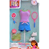 DORA Explorer Girls SPORTS STYLE FASHIONS Outfit w On-Line SOCCER CODE (2009) by Unknown