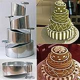 Amazon Com Chicago Metallic Multi Tier Cake Pan 4 Cavity