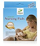 Washable Reusable Bamboo Nursing Pads / Organic Bamboo Round Breastfeeding Pads / Ultra Soft Pads / 8 Pack (4 Pair) with BONUS Laundry Bag / Perfect Shower Gift