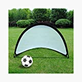 Portable Football Goal Net Foldable Simple for Children and Teenagers 120x 120 x 183CM