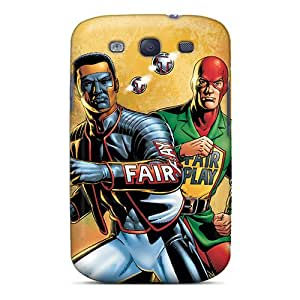 Premium Mister Terrific I4 Back Cover Snap On Case For Galaxy S3