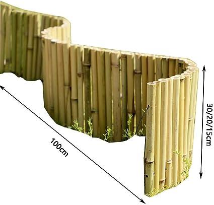 YYFANG Valla Madera Decoración De Borde De Cama De Flores Proceso Resistente A La Corrosión Impermeabilizante A Prueba De Intemperie Protección For Plantas, 2 Tamaños (Color : A, Size : 30x100cm): Amazon.es: Hogar
