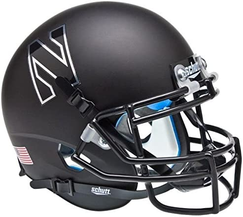 Schutt NCAA Northwestern Wildcats Mini Authentic XP Football Helmet