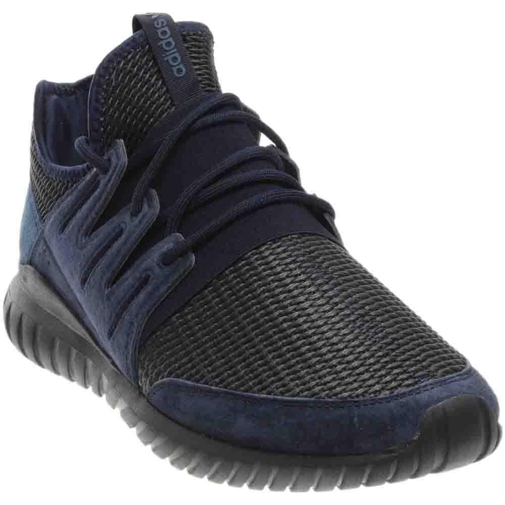buy popular fd836 05f84 Amazon.com   adidas Men Tubular Radial (Navy Collegiate Navy Night Marine)    Shoes
