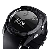 2af0ea897 AJO V8 Sports Smartwatch Bluetooth 4.0 Message Push, Sedentary Reminder,  Pedometer, Sleep Monitoring