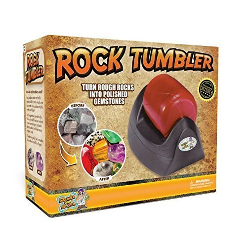 - Discover with Dr. Cool Rock Tumbler Set - Turn Rocks Into Stunning Gemstones