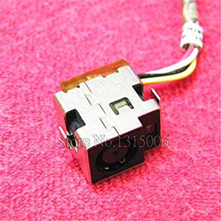 Computer Cables Laptop AC DC Power Jack with Cable Harness for HP Compaq Presario CQ35 CQ36 for HP Pavilion DV2 DV3 Cable Length: 5PCS