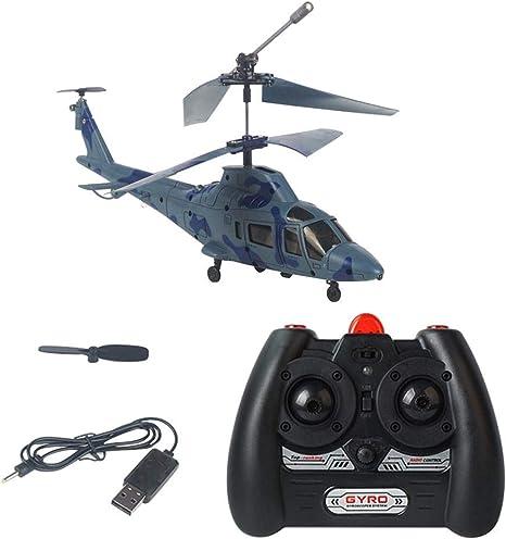 Helicóptero teledirigido de 3,5 canales, modelo mini, dron de ...