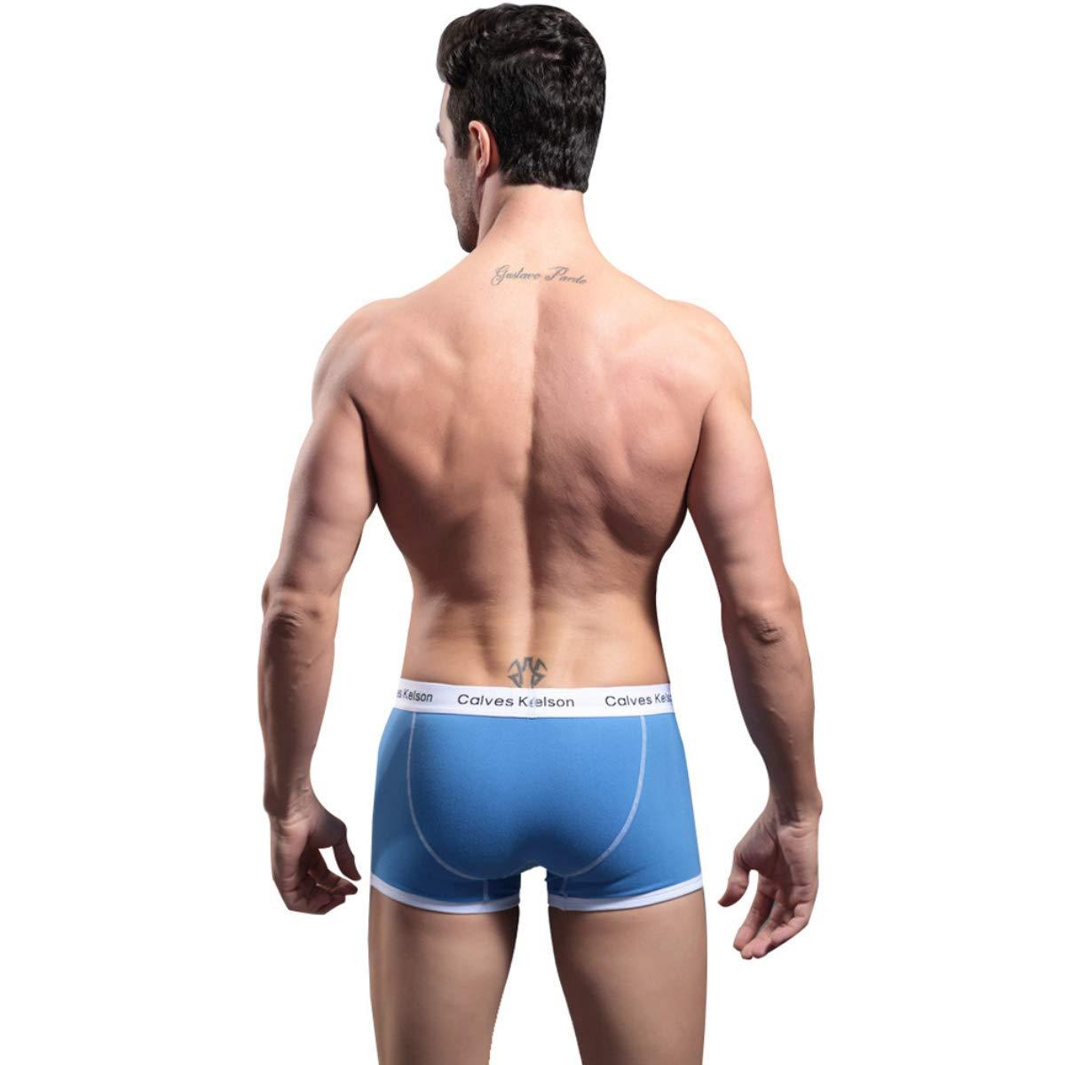 BaZhaHei-Productos para adultos, Ropa Interior para Hombres Calzoncillos para Boxeadores Calzoncillos con Cremallera Calzoncillos Blandos del Calzoncillos ...