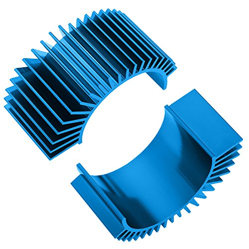 - Hobbypark 2-Pack Aluminum Electric Motor Heat Sink Cooling Fins for RS540 550 540 3650 Size RC Parts