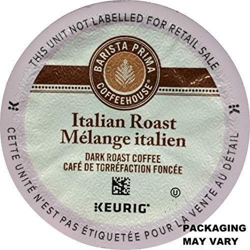 (Barista Prima Italian Roast Coffee K-Cup, 96 Count (Packaging May Vary))