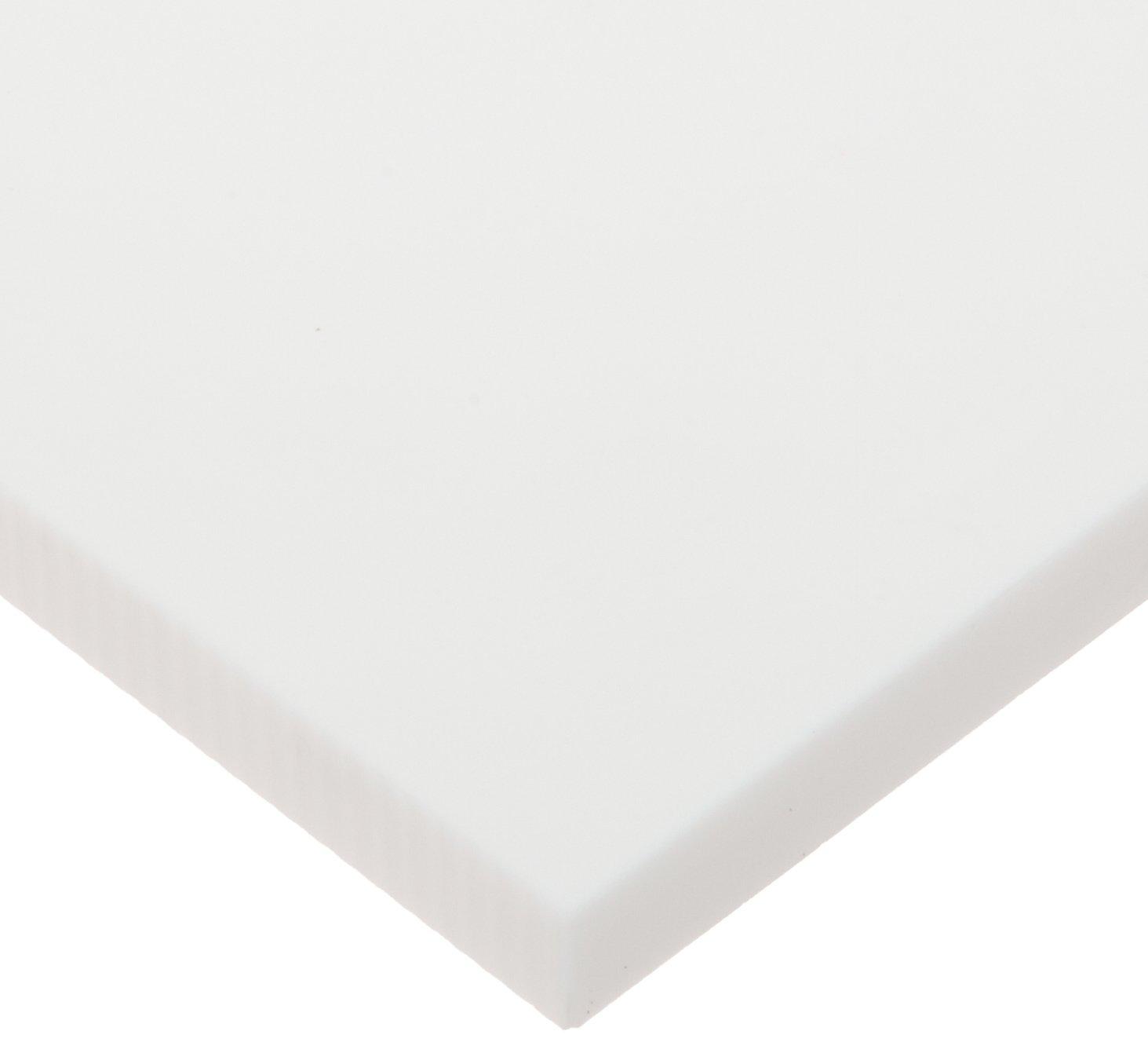 Glass-Mica Ceramic Sheet, Opaque White, Inch