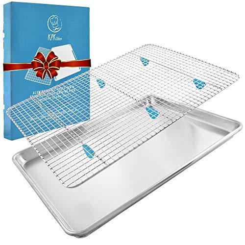 Baking Sheet with Cooling Rack Set - (18