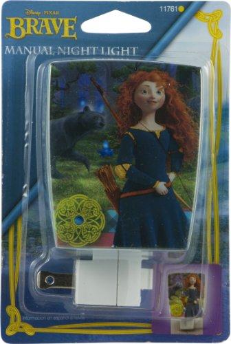 Disney/Pixar Wrap Shade Incandescent Night Light (Pixar's Brave)
