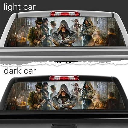 Amazon.com: Killer ninja Perforated Film Car Accessories ...