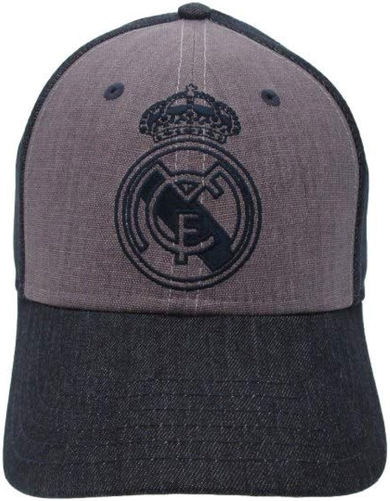 Gorra Real Madrid adulto marino gris primer equipo [AB3925 ...