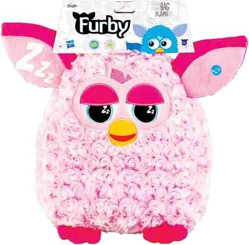 FAMOSA Furby Glow In The Dark Pyjama Bag With Sound