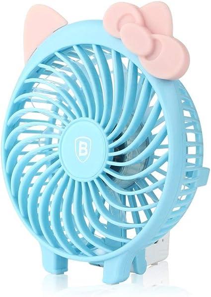 Baseus plegable ventiladores de mano recargable funciona con ...